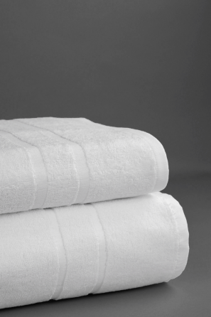 Toalla de baño Líneas, 100% algodón 520 gr/m2
